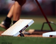 San Francisco Giants, S.F. Giants, photo, 2012, bases