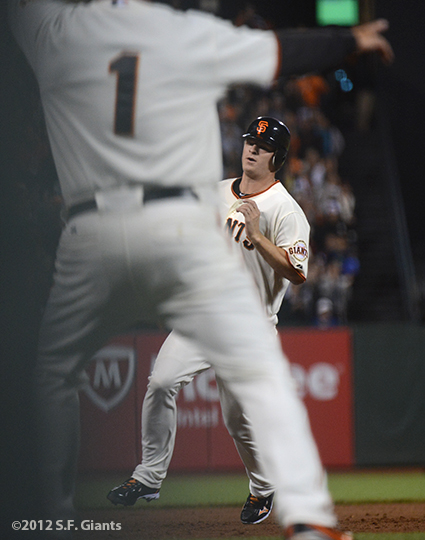 sf giants, san francisco giants, photo, 2012, matt cain, tim flannery