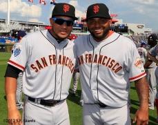 Melky Cabrera & Pablo Sandoval