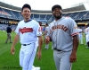 all star game, 2012, july 10, sf giants, san francisco giants, photo, pablo sandobal, Asdrubal Cabrera