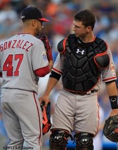Gio Gonzalez & Buster Posey