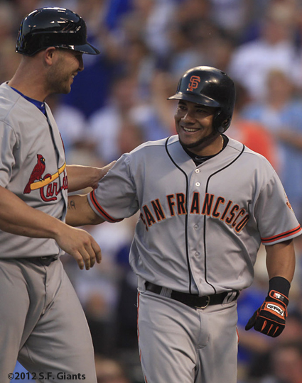 all star game, 2012, july 10, sf giants, san francisco giants, photo, melky cabrera, matt holiliday