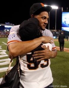 Melky Cabrera & his mom
