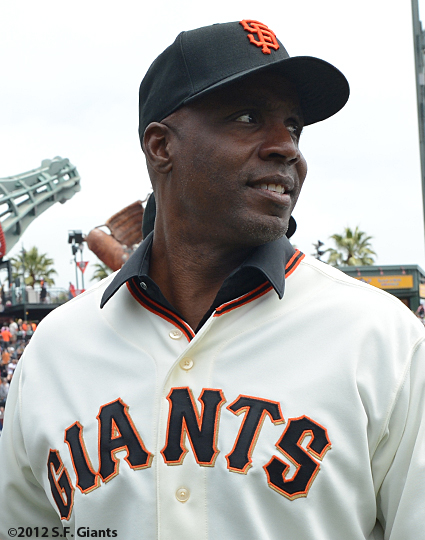 sf giants, san francisco giants, photo, 2012, barry bonds