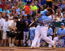 2012 Home Run Derby winner, Prince Fielder