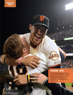 sf giants, san francisco giants, photo, 2012, matt cain, june 13, perfect game, gregor blanco