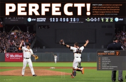 sf giants, san francisco giants, photo, 2012, june 13, matt cain, perfect game