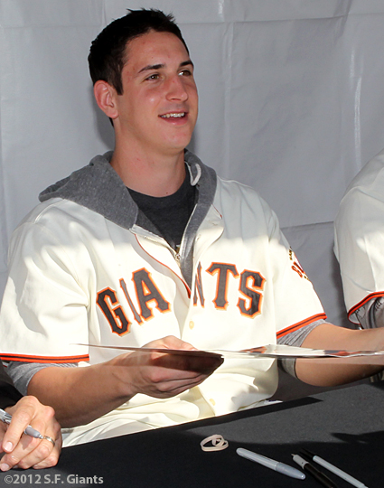 sf giants, san francisco giants, photo, 2012, eric surkamp