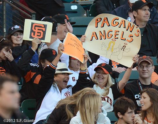 sf giants, san francisco giants, photo, 2012, fans