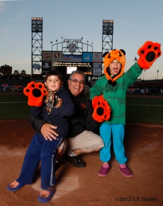 San Francisco Giants, S.F. Giants, photo, 2012, sleepover