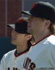 sf giants, san francisco giants, photo, 2012, tim lincecum, eric hacker