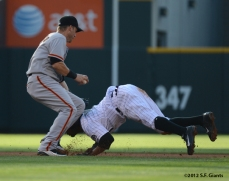 sf giants, san francisco giants, photo, 2012, eric young, marco scutaro