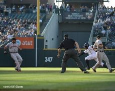 sf giants, san francisco giants, photo, 2012, eric young jr, melky cabrera,