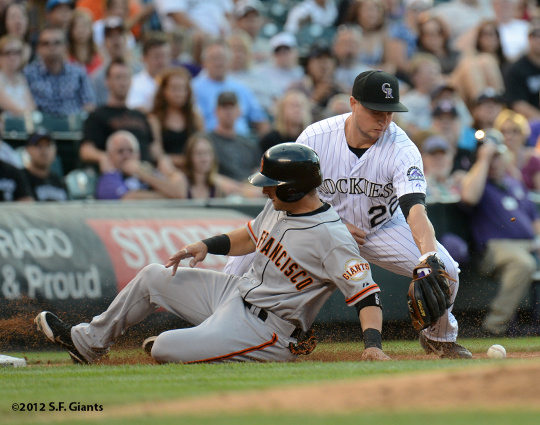 sf giants, san francisco giants, photo, 2012, marco suctaro