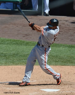 sf giants, san francsico giants, photo, 2012, melky cabrera