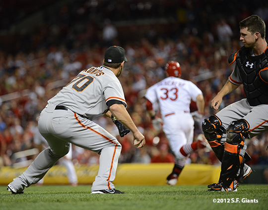 sf giants, san francisco giants, photo, 2012, george kontos, buster posey, Daniel Descalso
