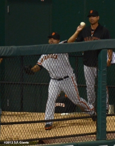 Jose Mijares, sf giants, san francisco giants, photo, 2012