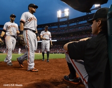 sf giants, san francisco giants, photo, 2012, barry zito, angel pagan, melky cabrera, hunter pence