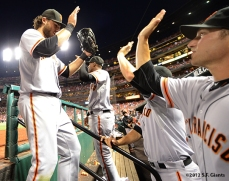 sf giants, san francisco giants, photo, 2012, brandon crawford, shane loux