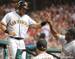 sf giants, san francisco gaints, photo, 2012, melky cabrera, bambam buelens
