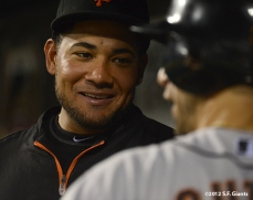 sf giants, san francisco giants, photo, 2012, melky carera