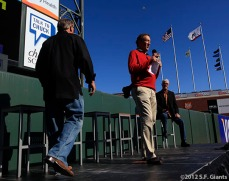 San Francisco Giants, S.F. Giants, photo, 2012, Larry Baer