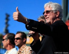 San Francisco Giants, S.F. Giants, photo, 2012, Mike Krukow