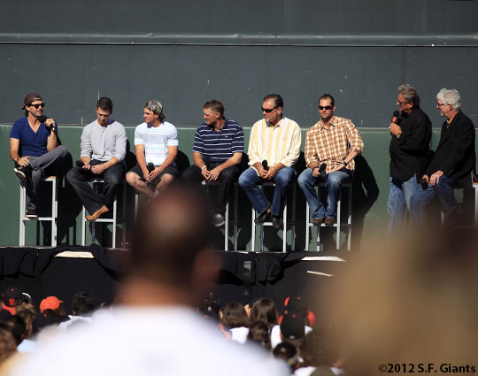 San Francisco Giants, S.F. Giants, photo, 2012,