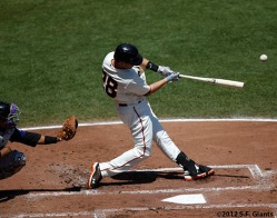 San Francisco Giants, photo, S.F. Giants, 2012, Buster Posey