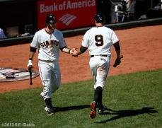 San Francisco Giants, S.F. Giants, photo, 2012, Brandon Belt