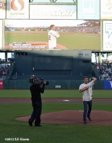 sf giants, san francisco giants, photo, 2012, marco andretti