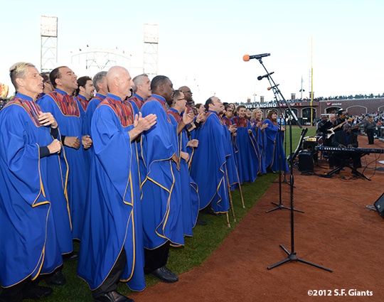 sf giants, san francisco giants, photo, 2012, glide memorial