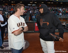 sf giants, san francisco giants, photo, 2012, sergio romo, marco andretti