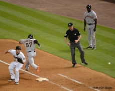 sf giants, san francisco giants, photo, 2012, francisco peguero, roberto kelly