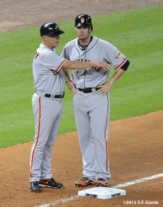 sf giants, san francisco giants, photo, 2012, tim flannery, ryan vogelsong