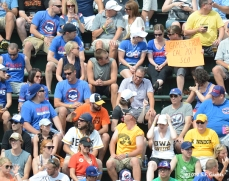 sf giants, san francisco giants, photo, 2012, wrigley field, fans