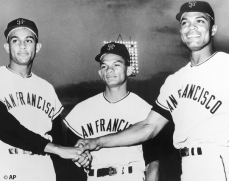 sf giants, san francisco giants, photo, view level timeline, alou brothers, felipe alou, matty alou, jesus alou