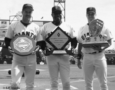 sf giants, san francisco giants, 2012, photo, view level timeline, jeff kent, dusty baker, jt snow