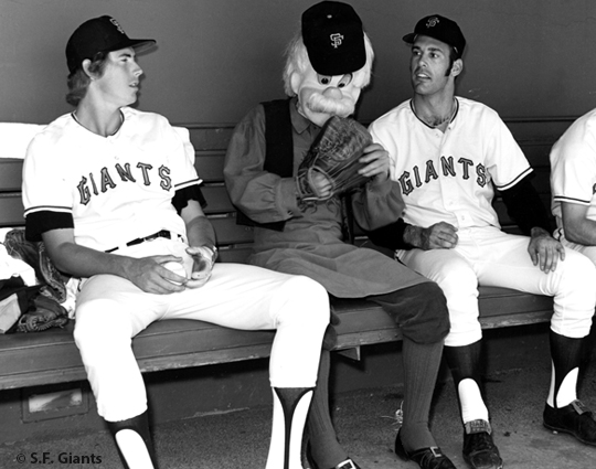 sf giants, san francisco giants, photo, view level timeline, pitchers, Ed Goodson, Geppetto & Jim Barr