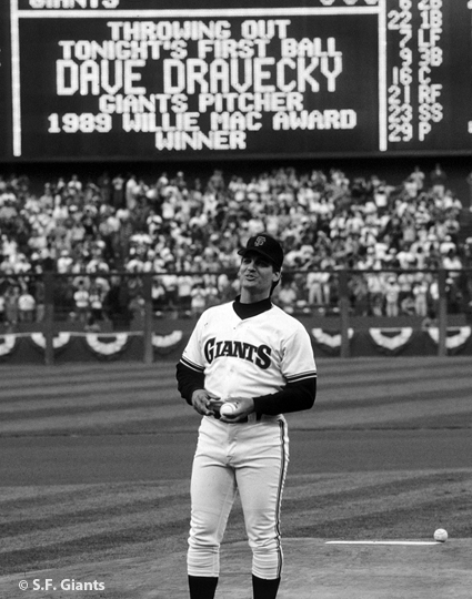sf giants, san francisco giants, photo, 2012, view level, 1989, dave dravecky