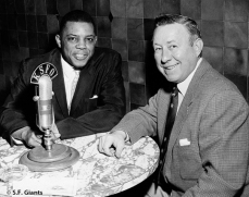 Willie Mays & Russ Hodges