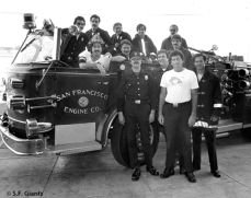 Greg Minton & some real firefighters