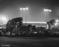sf giants, san francisco giants, photo, 2012, 1999, timeline, view level, candlestick at night