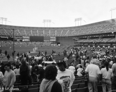 sf giants, san francisco giants, photo, 2012, view level, 1989, game 3, quake