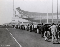 Before 1971 Candlestick Park was not enclosed