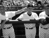 sf giants, san francisco giants, photo, 2012, view level, kirk rueter, woody, william vanlandingham, shawn estes