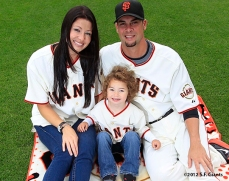 sf giants, san francisco giants, photo, 2012, family day, ryan vogelsong