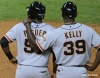 sf giants, san francisco giants, photo, 2012, frncisco peguero, roberto kelly