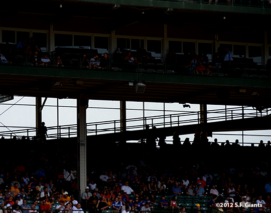 sf giants, san francisco giants, photo, 2012, wrigley field