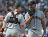 sf giants, san francisco giants, photo, 2012, buster posey, madison bumgarner
